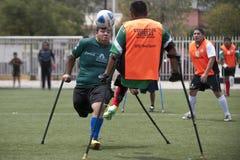 Приспособленный футбол стоковая фотография rf