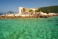 приставает montenegro к берегу Стоковое Изображение