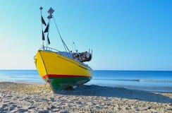 Приставанная к берегу шлюпка Стоковая Фотография RF