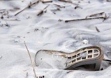 Приставанные к берегу ботинки 1 стоковая фотография rf