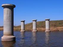 Пристани моста Стоковое фото RF