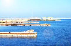 Пристани на море Стоковые Фото