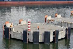 Пристани посадки в порте Klaipeda, Литвы стоковые фото