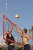пристаньте волейбол к берегу Стоковое Изображение RF