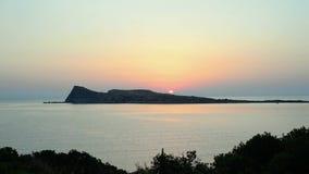 пристаньте восход солнца к берегу сток-видео