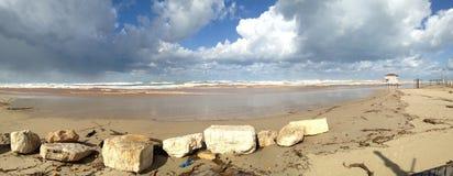 пристаньте день к берегу Стоковая Фотография