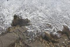пристаньте зиму к берегу Стоковые Изображения RF