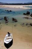 пристаньте красивейшее quejo к берегу Испанию cantabria Стоковые Изображения RF
