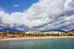 Пристаньте к берегу на Косте del Sol в Puerto Banus стоковое фото