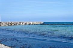 Пристаньте к берегу на немецком Балтийском море с чувством шезлонга и праздника с песком стоковое изображение rf