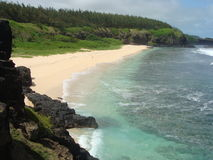 пристаньте Маврикий к берегу Стоковое фото RF