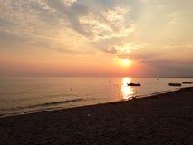 пристаньте море к берегу Стоковая Фотография RF