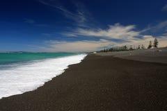 пристаньте Новую Зеландию к берегу Стоковое Изображение RF