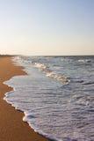 пристаньте одичалое к берегу Стоковое Фото