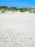 пристаньте песочную белизну к берегу Стоковая Фотография RF
