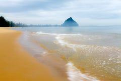 Пристаньте свежесть к берегу пляжа Boet челки после дождя Стоковые Изображения