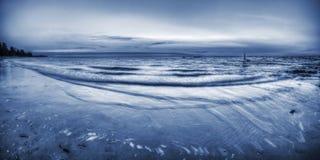Пристаньте сцену к берегу на этап Ли, северные территории, Австралия Стоковая Фотография