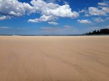 Пристаньте сцену к берегу пункта Dunleith, входа, побережья a NSW центрального Стоковая Фотография RF