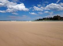 Пристаньте сцену к берегу пункта Dunleith, входа, побережья a NSW центрального Стоковая Фотография