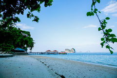 Пристаньте Таиланда к берегу Стоковые Фото