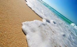 пристаньте тропическое к берегу Стоковое Фото