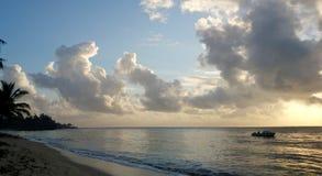 пристаньте утро к берегу Стоковые Фото