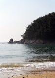 пристаньте юг к берегу mallipo Кореи Стоковые Фото