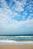 пристаньте ясное тропическое к берегу стоковое изображение rf