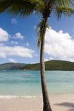 пристаньте caribbean к берегу Стоковая Фотография RF