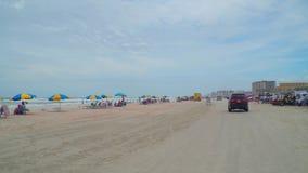 пристаньте daytona к берегу florida акции видеоматериалы