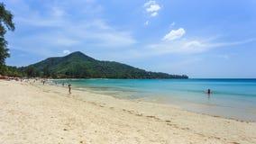 пристаньте kamala к берегу Таиланд острова hdr состава обрабатываемый phuket квадратный Стоковые Изображения RF