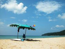 пристаньте patong к берегу phuket Стоковое Изображение