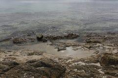 пристаньте tuerredda к берегу Стоковое фото RF