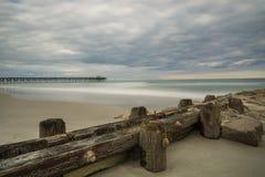Пристань Атлантического океана Стоковое Изображение RF