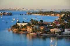 Пристань Багамских островов Стоковая Фотография RF