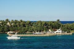 пристань Багам Стоковая Фотография