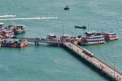 Пристань Бали Hai Стоковая Фотография