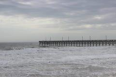 Пристань вида на море Стоковые Фото