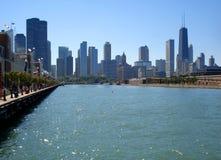 пристань военно-морского флота chicago Стоковое Изображение RF
