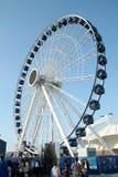Пристань военно-морского флота Чикаго - колесо паромов Стоковая Фотография RF