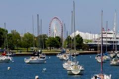 Пристань военно-морского флота Чикаго Стоковое Фото