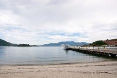 Пристань в Бразилии Стоковая Фотография