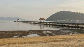 Пристань в море Стоковые Изображения RF