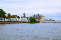 Пристань в Санкт-Петербурге, Флориде, США стоковое изображение rf