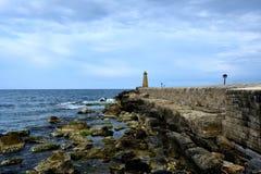 Пристань в Kyrenia стоковое изображение