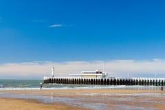 Пристань в Oostende Стоковая Фотография RF