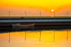 Пристань в Sopot, Польше стоковое фото