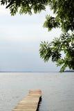 пристань деревянная Стоковое фото RF
