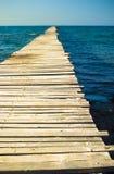 пристань деревянная Стоковые Изображения