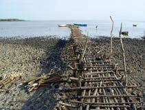 пристань деревянная Стоковые Фото